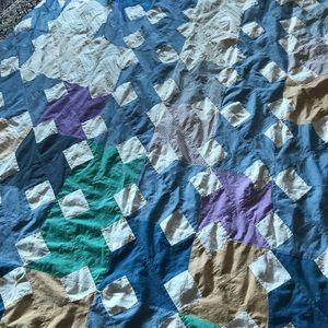 Vintage, unfinished quilt top